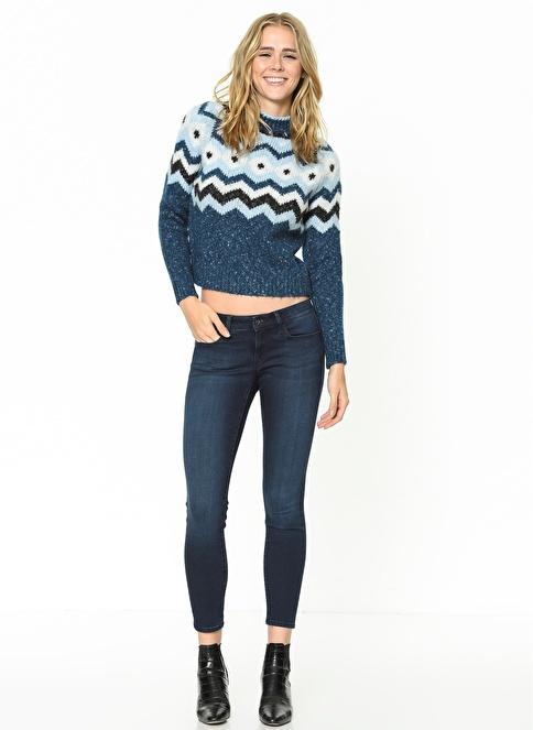 Mavi Jean Pantolon | Serena Ankle - Skinny Renkli